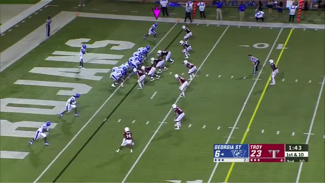 Watch and share Penny Hart 2018 GIFs and Cfb Game Tape GIFs on Gfycat