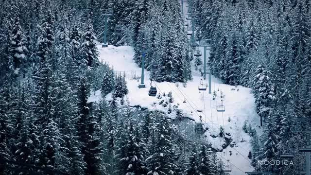Watch Ski Lift - Moodica.com GIF by Moodica (@moodica) on Gfycat. Discover more earthporngifs, naturegifs GIFs on Gfycat