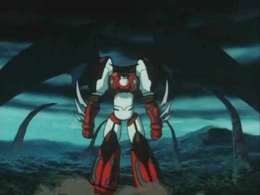 Watch and share Shin Getter Robo Launch GIFs by sideswipe201k on Gfycat