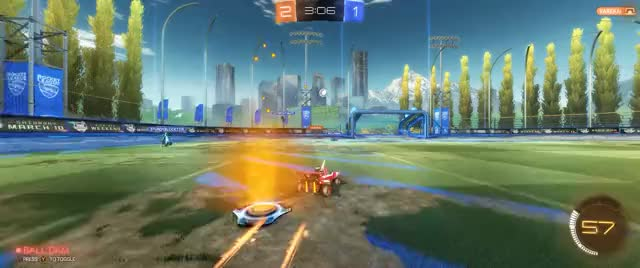 Watch and share Rocket League - Barrel Roll Dunk GIFs on Gfycat