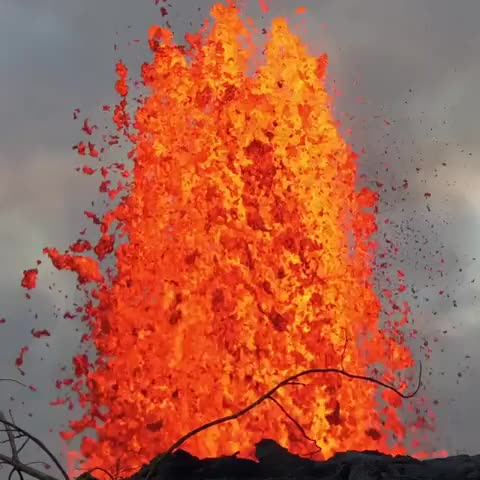 Watch and share Spewing Lava  GIFs by ibleeedorange on Gfycat