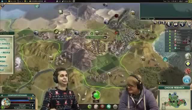 Watch Civ V: Datlof Returns #10 - Rythian Is Mean GIF on Gfycat. Discover more related GIFs on Gfycat
