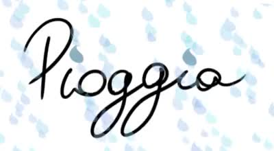 Watch RainNoun, feminine, singular.Plural ->PioggeLa pioggia ha ro GIF on Gfycat. Discover more italian, pioggia, rain, vocabulary GIFs on Gfycat