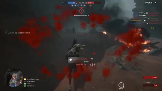 Watch and share Battlefield GIFs and Horse GIFs on Gfycat