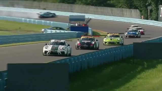 Watch and share Porsche Cup Racing GIFs and Pile Up GIFs by yosemitea on Gfycat