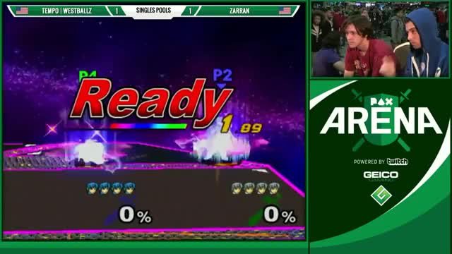 Watch EMG Super Smash Bros. Play of the Week 2016 - Episode 5 GIF on Gfycat. Discover more amsa, grsmash, leffen GIFs on Gfycat