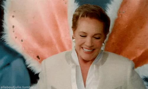 Watch this trending GIF on Gfycat. Discover more julie andrews GIFs on Gfycat
