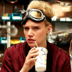 epic, flirt, flirty, ghostbusters, hey, kate, mckinnon, sexy, smile, there, wink, Epic wink GIFs