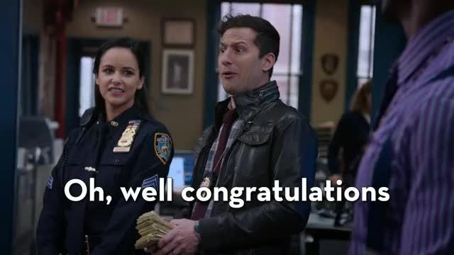 Watch and share Brooklyn Nine Nine GIFs and S06e01 Honeymoon GIFs by efitz11 on Gfycat