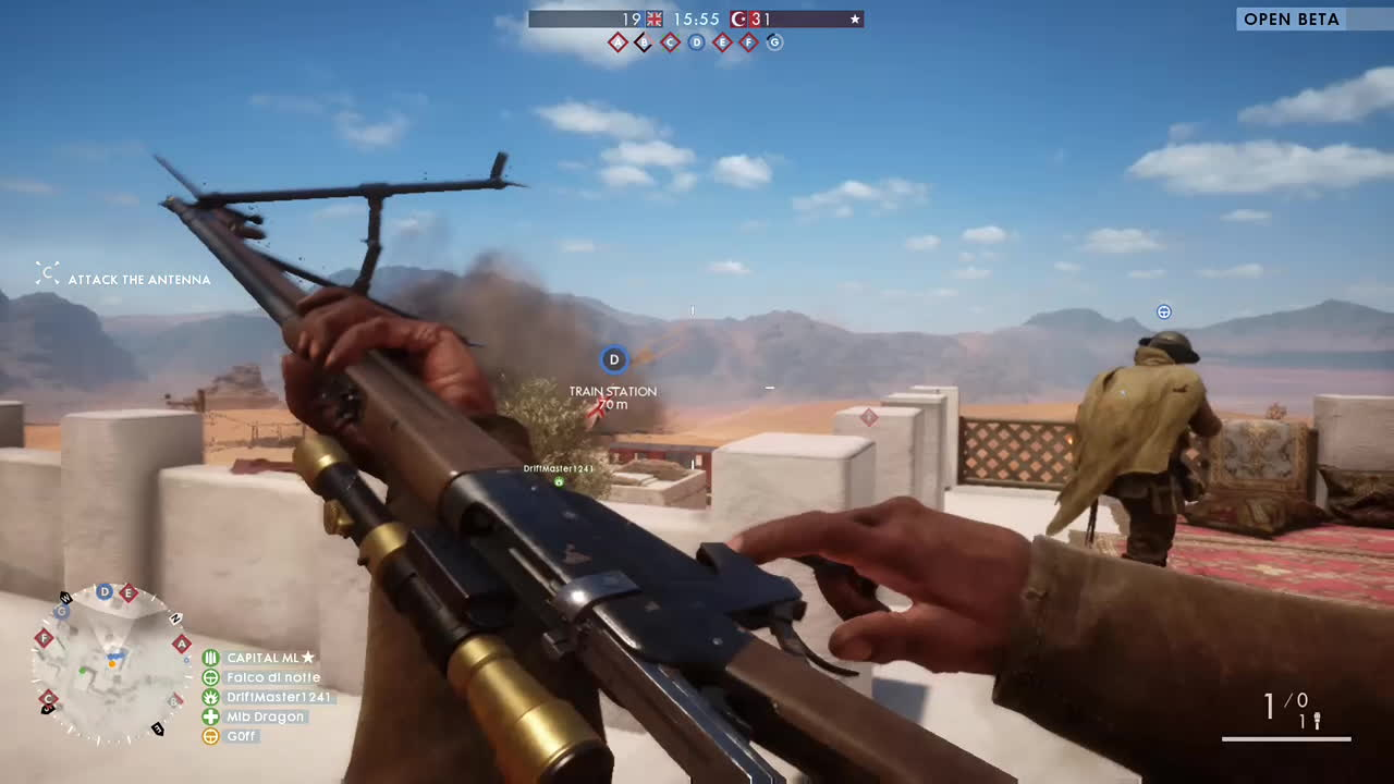 gaming, [Battlefield One] Bullseye GIFs