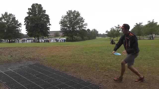 Watch 2016 USDGC - Round 3 - Hole 13 - McMahon tee shot GIF by @rprodart on Gfycat. Discover more dgwt, disc golf, usdgc GIFs on Gfycat