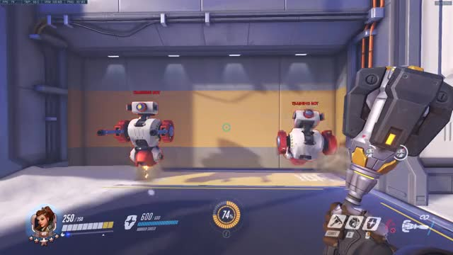 Watch and share Brigitte Melee Arcs GIFs by brokenstyli on Gfycat