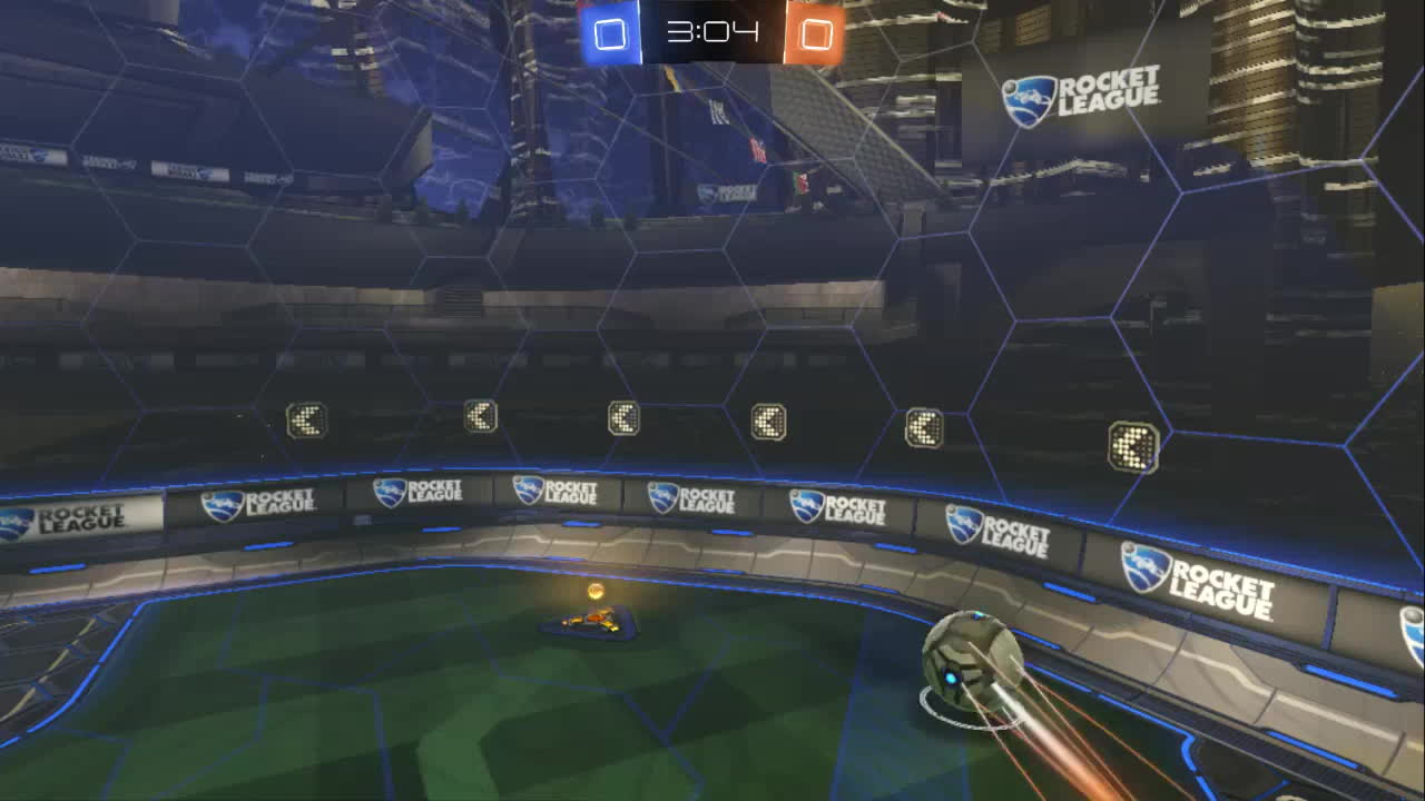 Rocket League, league, rocket, rocketleague, rumble, Falling frozen ball GIFs