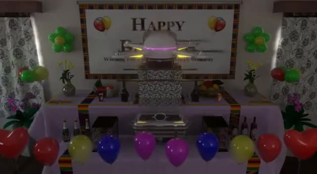 Watch Drone Delivers Cake Birthday Animation (Draft Version) GIF on Gfycat. Discover more animated, animation, birthday, birthdays, cake, drone, ecard, kente, preview GIFs on Gfycat