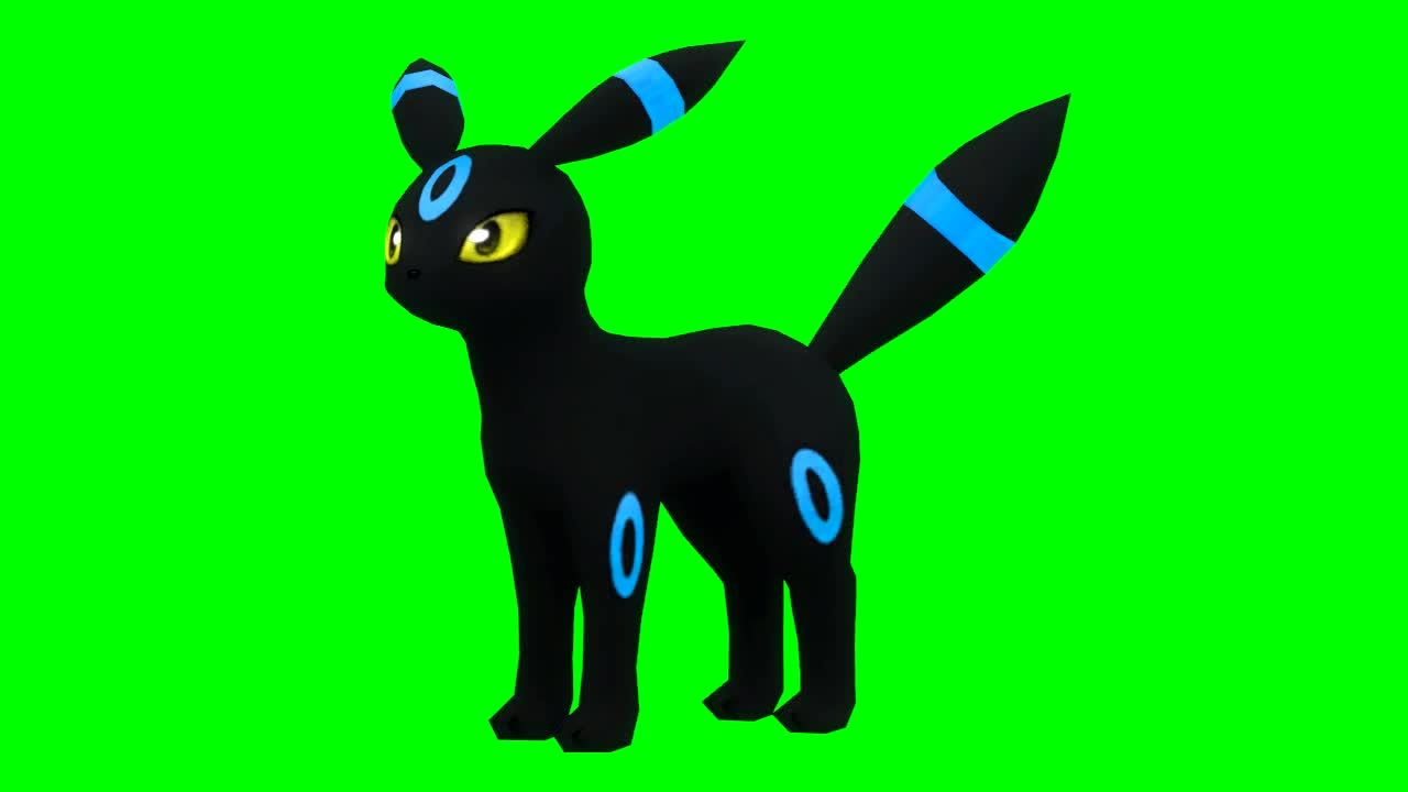 twitchplayspokemon, Neon the Umbreon Full Animation Edit (reddit) GIFs