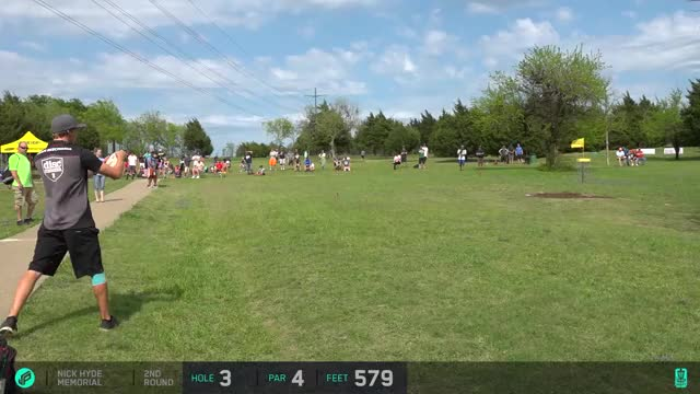 Watch 2017 Nick Hyde Memorial | Round 2, Front 9 | McBeth, Lizotte, Sexton, McBride GIF by Ultiworld Disc Golf (@ultiworlddg) on Gfycat. Discover more related GIFs on Gfycat