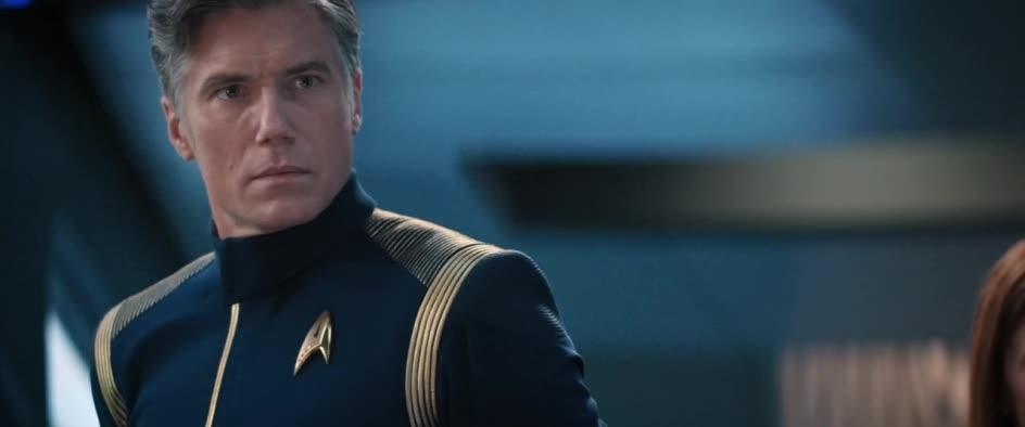 Star Trek: Discovery, Pike walks off GIFs