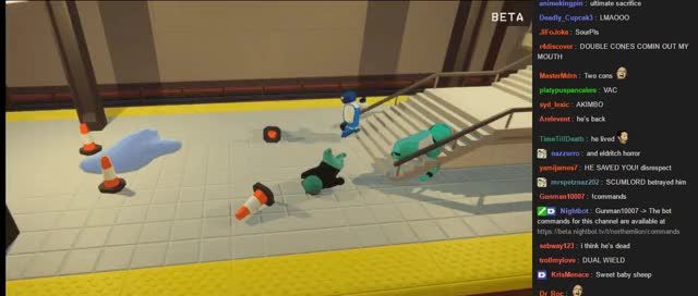 Watch This Subway Ain't Big Enough for the Both of Us GIF on Gfycat. Discover more Gangbeasts, NLSS, nlsscirclejerk GIFs on Gfycat