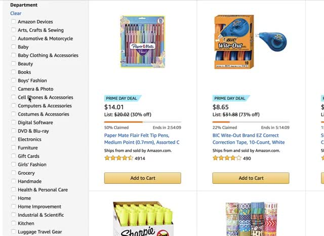 """""""Forgiving Checkboxes"""" by Amazon.com 
