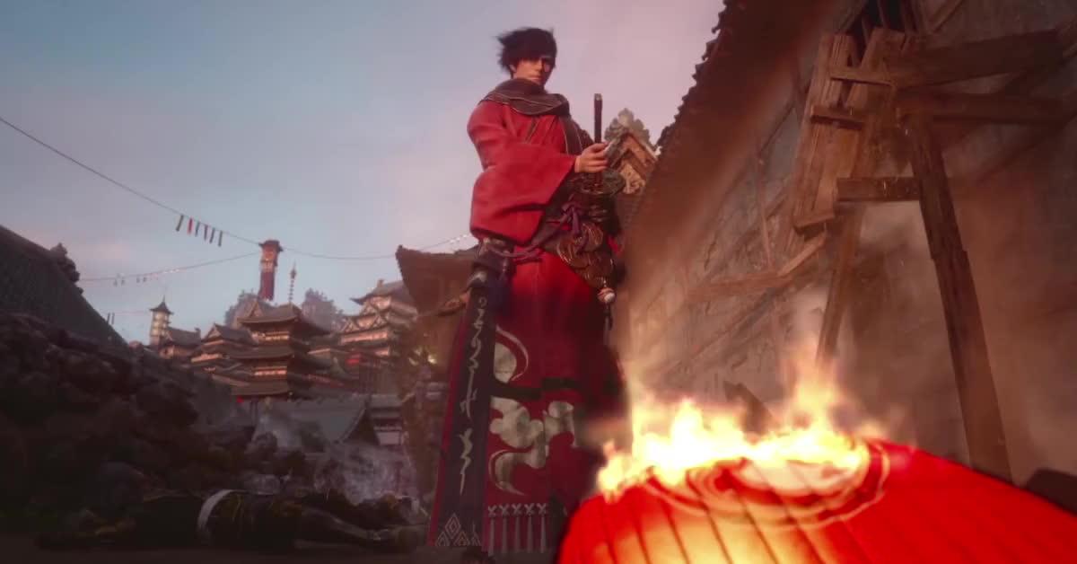 FFXIV Samurai GIFs