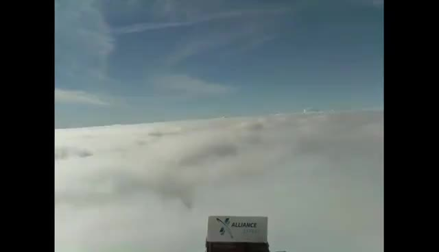 Raspberry PI in stratosphere with high altitude balloon - Launch and flight videos GIFs
