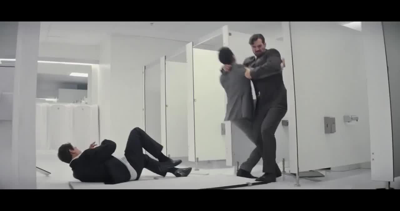 Film & Animation, Movie Movie, Mission Impossible Fallout Bathroom Fight Scene GIFs