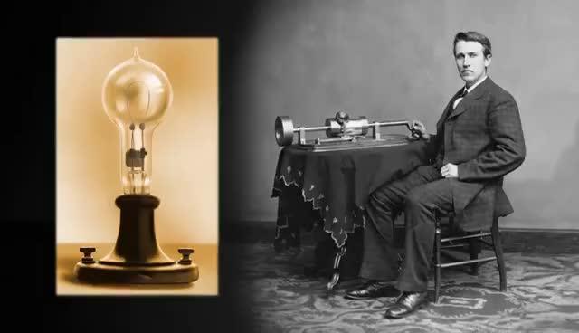 Thomas Edison's Light Bulb GIFs