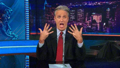 Watch this omg GIF by Miss GIF (@mizznaii) on Gfycat. Discover more Jon Stewart, blewmymind, mindblown, mindgasm GIFs on Gfycat