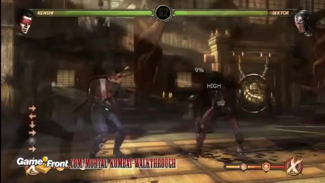 Watch and share MK9 - Spirit Charge GIFs by 76sup on Gfycat