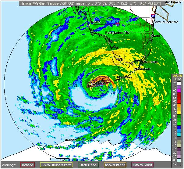 Watch and share Center Of Irma At Key West, Florida GIFs by The Watchers on Gfycat
