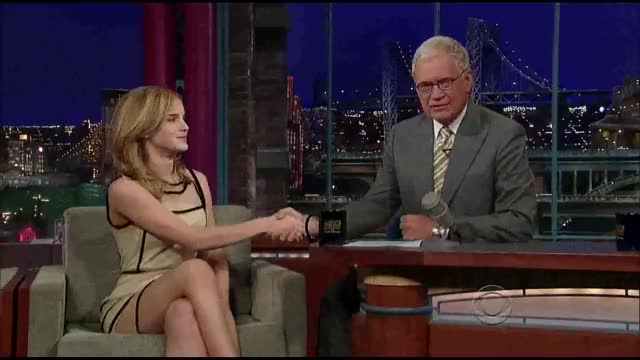 Watch and share David Letterman GIFs and Emma Watson GIFs on Gfycat