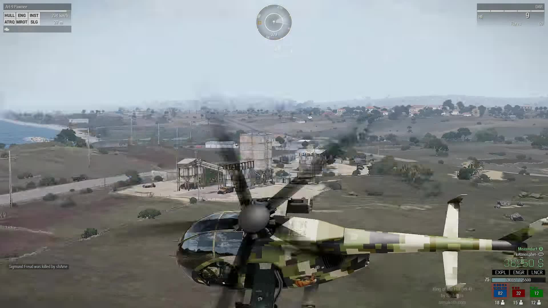Arma, Arma 3, Gaming, KOTH, King of the Hill, Misconduct, Pilot, amazing pilot, awesome pilot, best pilot, Amazing autorotation GIFs