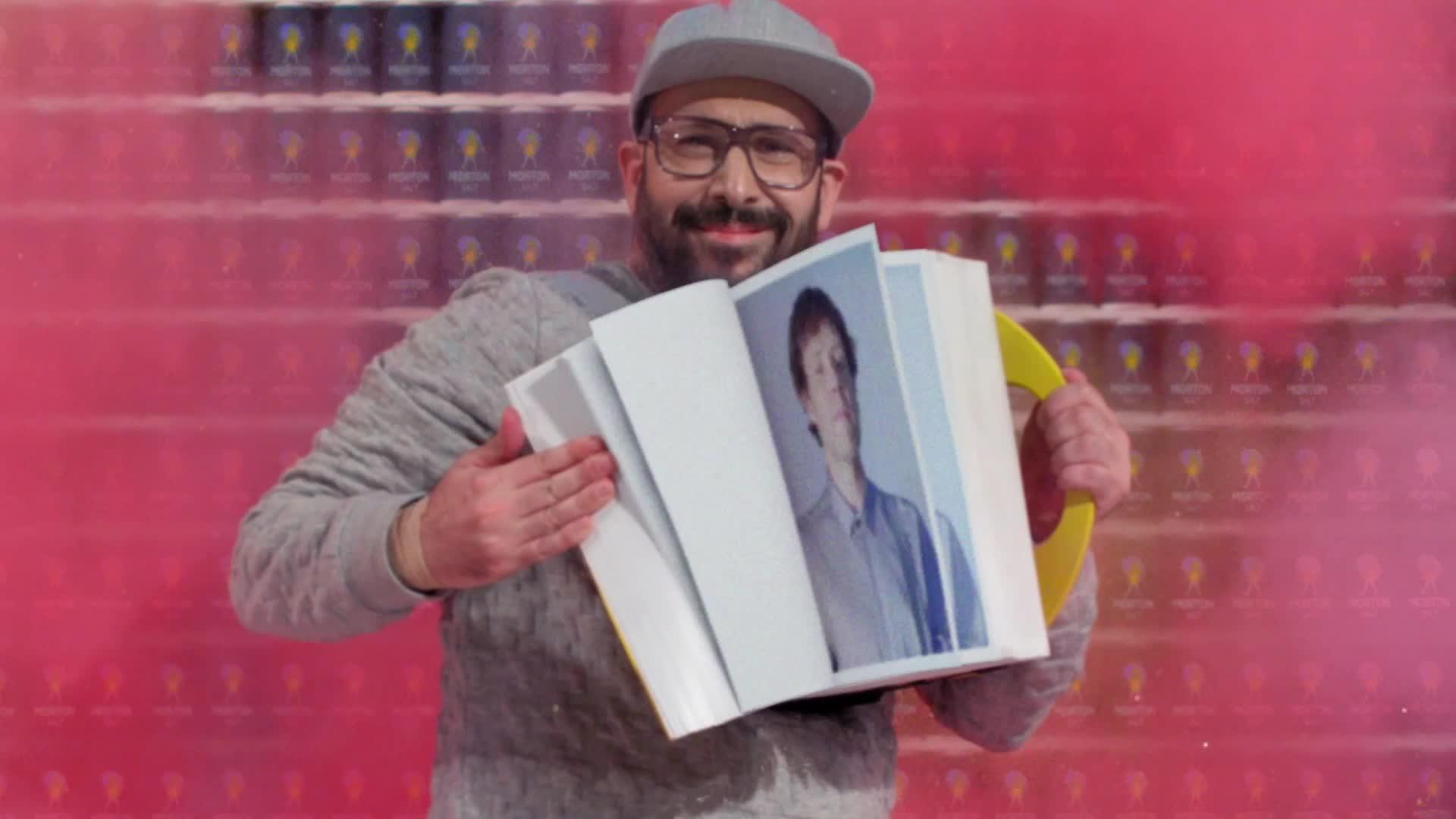 Damian Kulash, OK Go, The One Moment, Tim Nordwind, moment, morton, music, okgo, one, theonemoment, Tim Flips the Book of Damian - OK Go GIFs