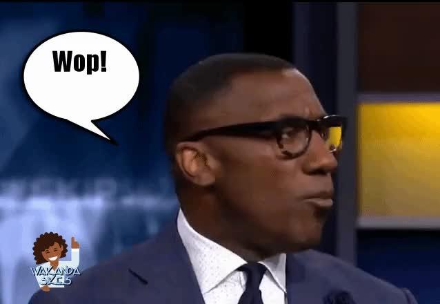 Watch Wop Wop GIF by Petty Parker (@bertrellakajadox) on Gfycat. Discover more Now What, Shannon Sharpe, Take That, Wakanda Sikes, Wop Wop GIFs on Gfycat