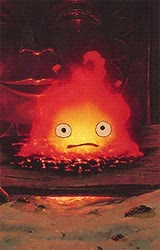 Watch and share Calcifer GIFs on Gfycat