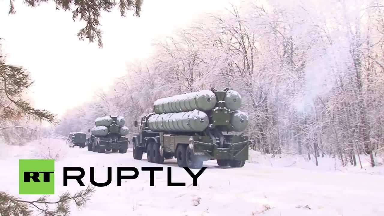 Ambush, Military, militarygfys, Russian Soldier Fends off Mock Ambush on S-300 Convoy GIFs