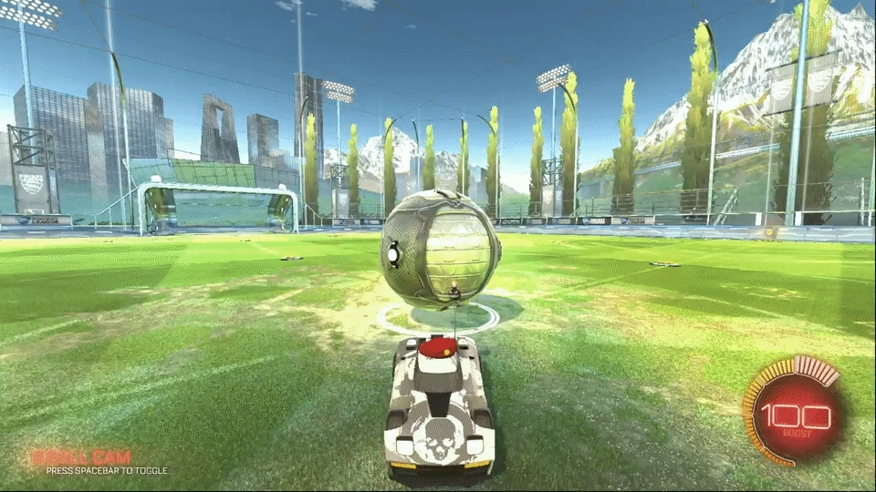 imagesofrussia, rocketleague, In Soviet Russia, ball hits you! GIFs