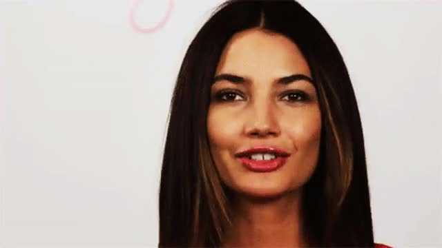 Watch and share Lily Aldridge GIFs and Blow Kiss GIFs on Gfycat