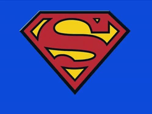 Watch and share Superman Logo GIFs on Gfycat
