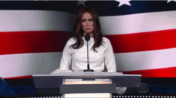 Watch and share Melania animated stickers on Gfycat