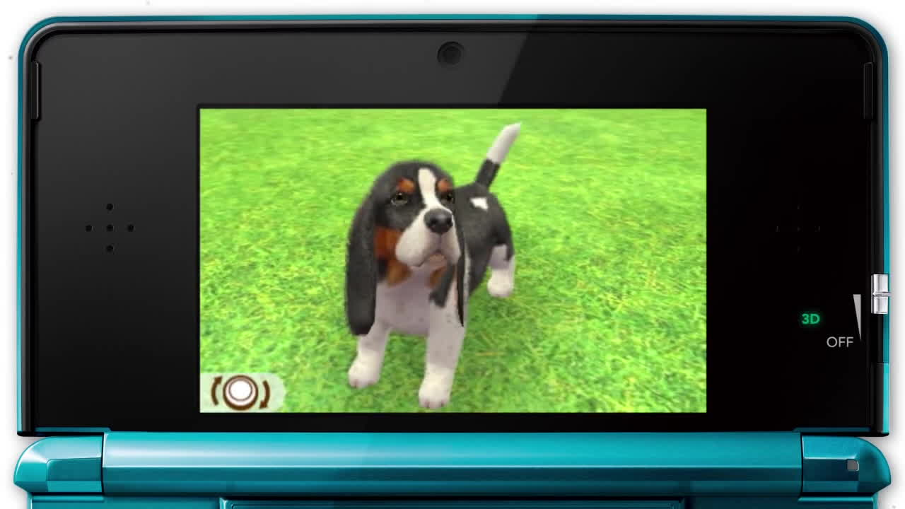 game, in-game, play, Nintendogs + Cats - Nintendo 3DS - Trailer GIFs