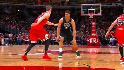 Watch Brook Lopez — Milwaukee Bucks GIF by Off-Hand (@off-hand) on Gfycat. Discover more 022519 GIFs on Gfycat