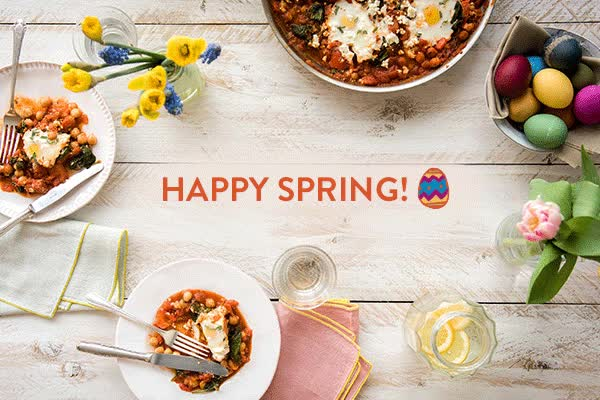 Watch and share Happy Spring & Happy Easter! | The Fresh Times GIFs on Gfycat