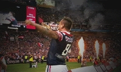 13p, nrl, rlgifs, still so happy, sydney roosters, the boys are perfect, 2013 NRL Premiers [1/3] GIFs