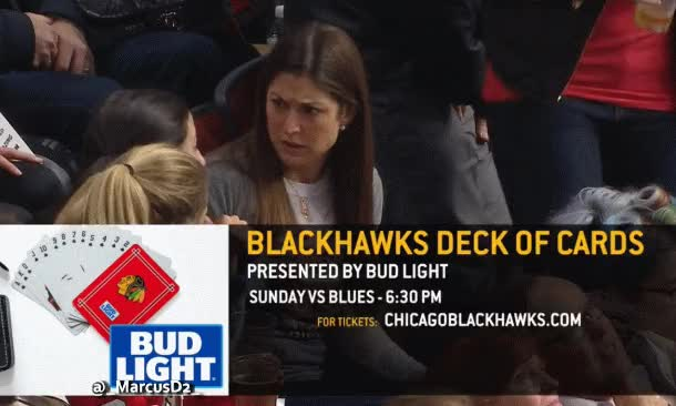 Watch and share Hockey GIFs and Hawks GIFs by MarcusD on Gfycat