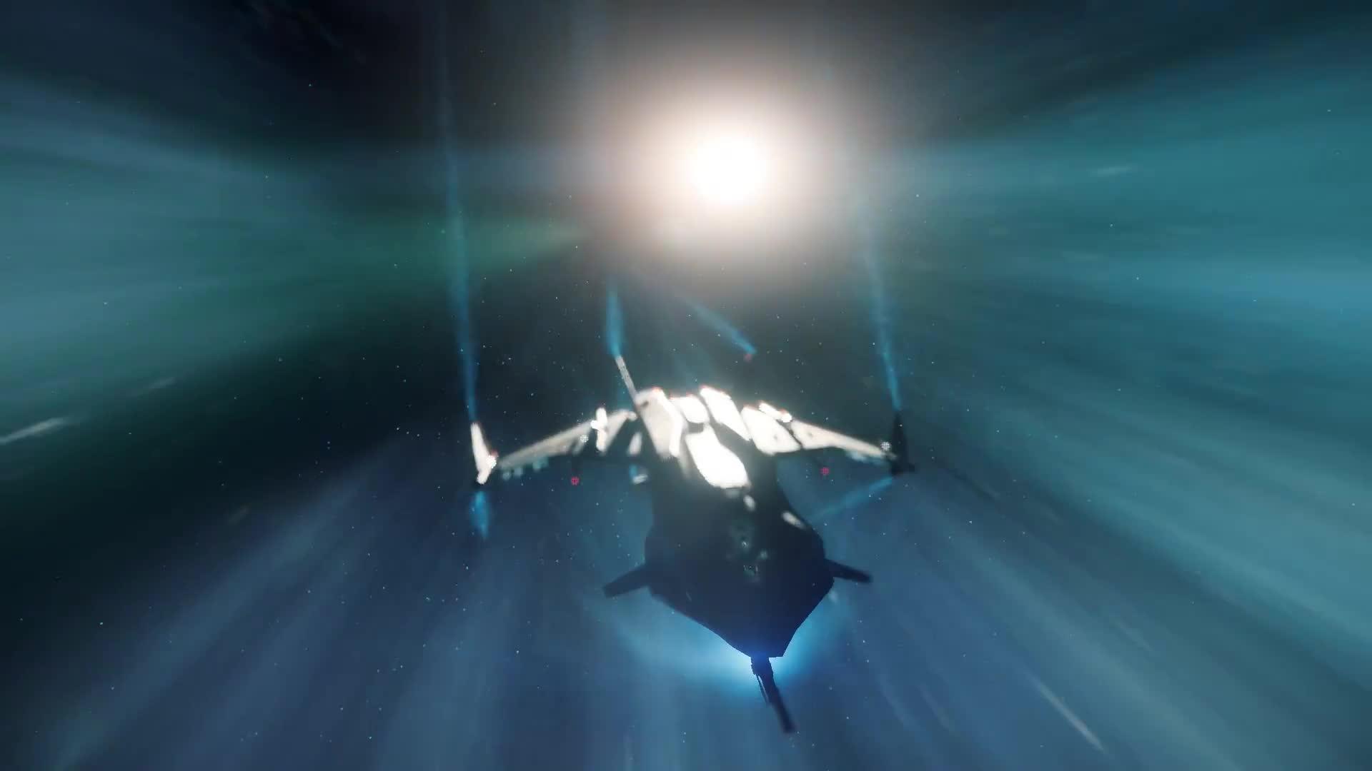 starcitizen, Gladius Valiant Quantum Star Citizen GIFs