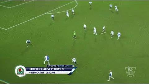 Watch and share Morten Pedersen. Blackburn - Newcastle. 09.12.2006 GIFs by fatalali on Gfycat