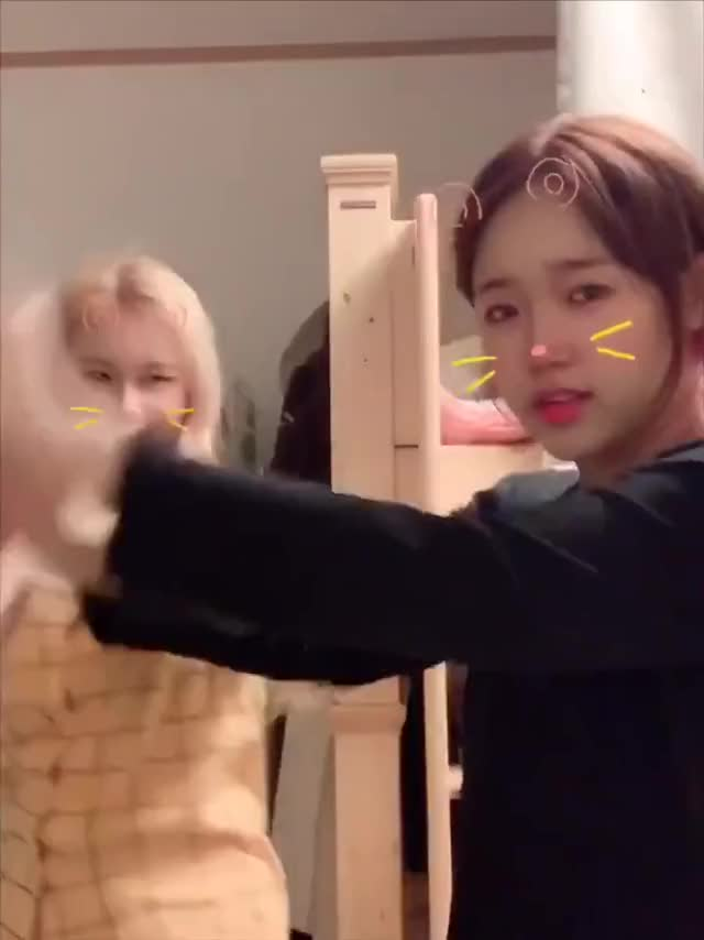 Watch and share Yoojung Monka GIFs by voltixx on Gfycat