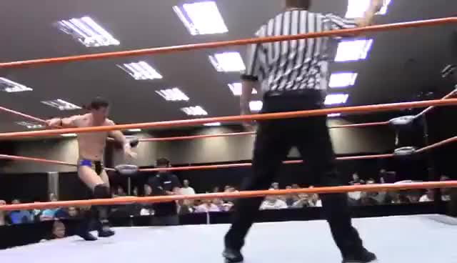 Watch Uproar Pro Wrestling - Oliver Cain vs. Leo Brien 1/31/2015 GIF on Gfycat. Discover more related GIFs on Gfycat
