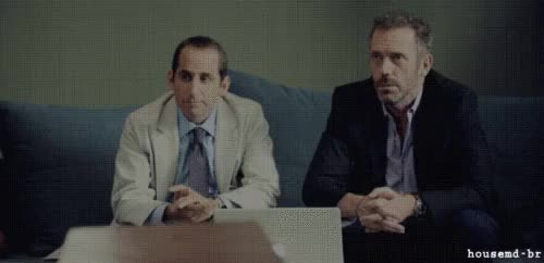 Watch and share Gregory House GIFs and Hugh Laurie GIFs on Gfycat